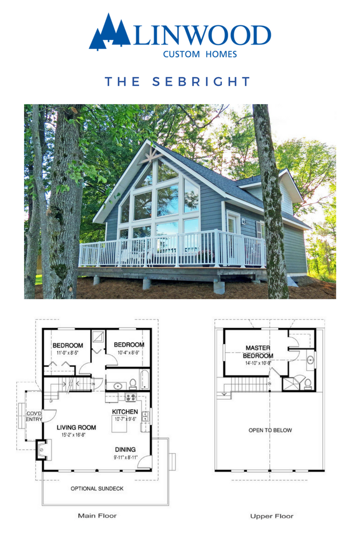 This 3-bedroom Sebright home package from Linwood Homes has three ...