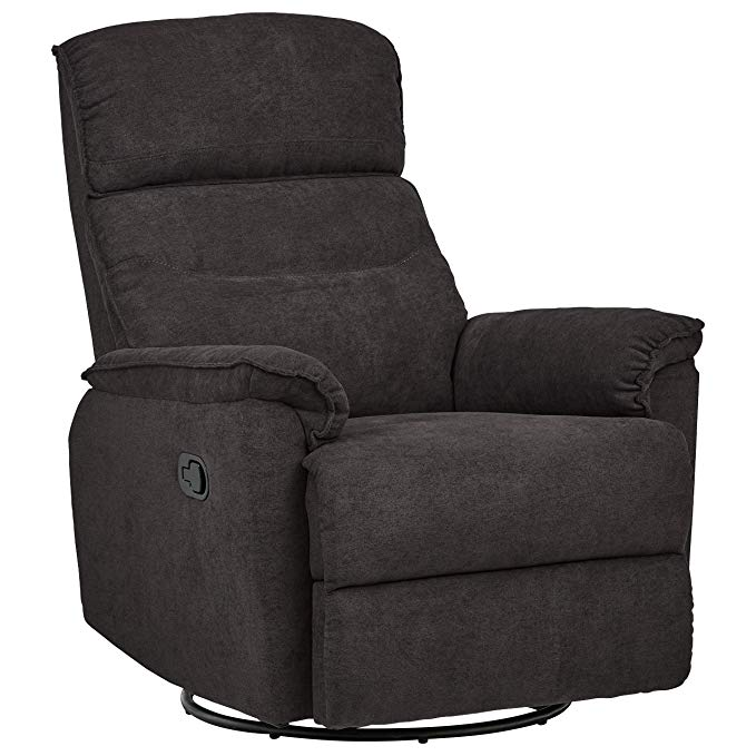Ravenna Home Pull Recliner with Rotating 360