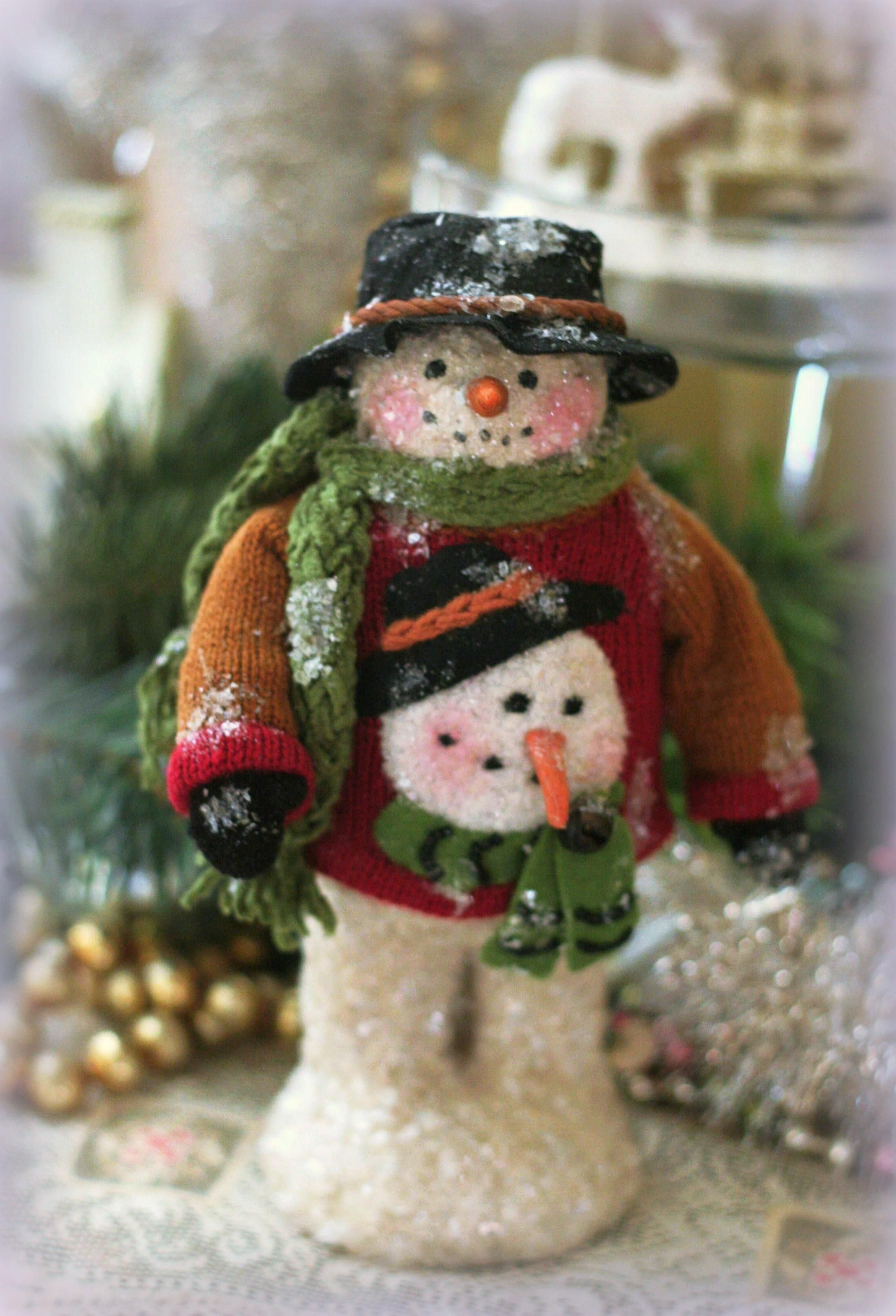 Snowing christmas decoration let it snow - Welcome To Christmas Lady Com