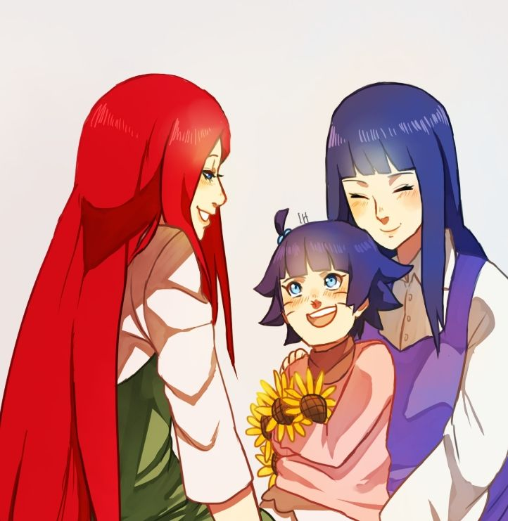 himawari and kushina
