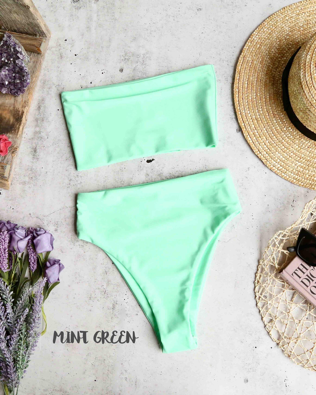 ff31fabade932 reverse - lean on - high waisted bandeau bikini set - more colors –  shophearts