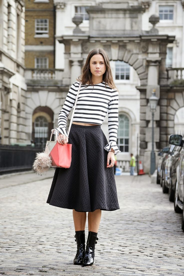 218be7727f How To Wear Full Midi Skirts (Without Looking Too Prim) – Closetful of  Clothes