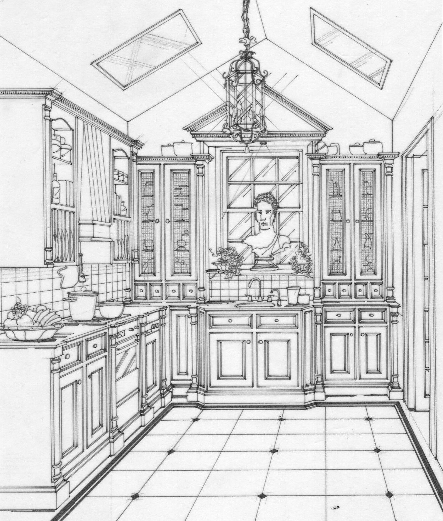 Kitchen Concept Drawing Paddington Nsw Kitchen Concepts Decor Interior Design Design