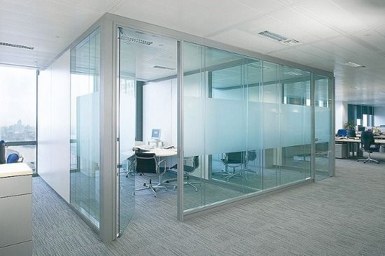 Use Of Sectioned Frosted Glass For Privacy Could Be Used For