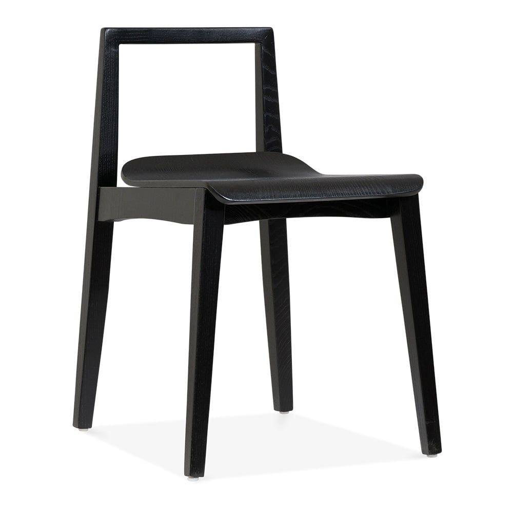 Cult Living Hip Wooden Dining Chair Black | Cult Furniture