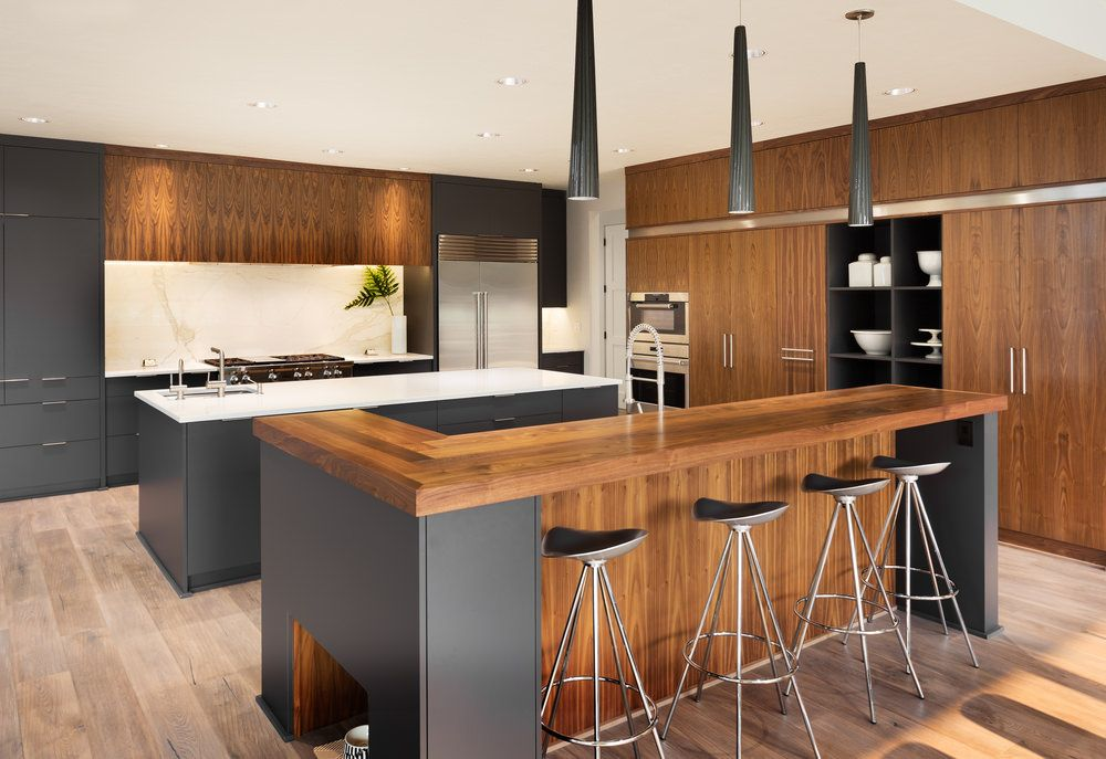 150 Multi Colored Kitchen Ideas For 2019 In 2020 Modern Wood Kitchen Contemporary Kitchen Design Modern Kitchen Design