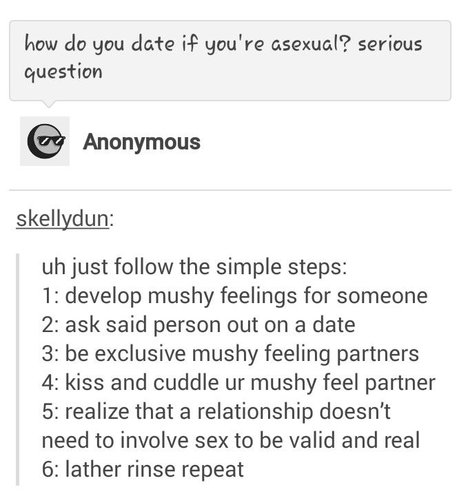 Asexual aromantic relationship