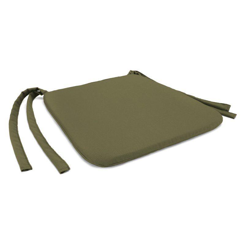 Jordan Manufacturing 19 x 17 in. Solid Indoor Seat Pad Haskett Basil - HN9597PK1-I1705