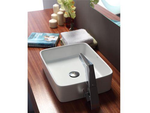 Bravat 檯上面盆 C2293W | bathroom sink | Sink countertop, Sink
