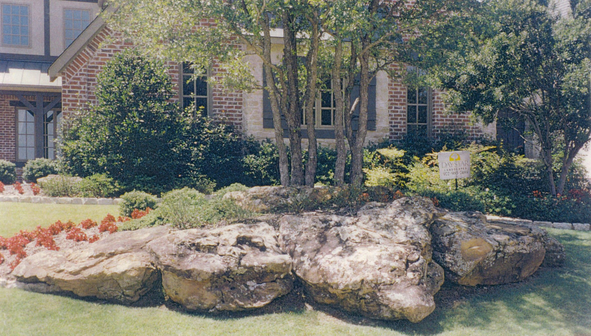 Landscaping with Boulders Boulders Pinterest To be