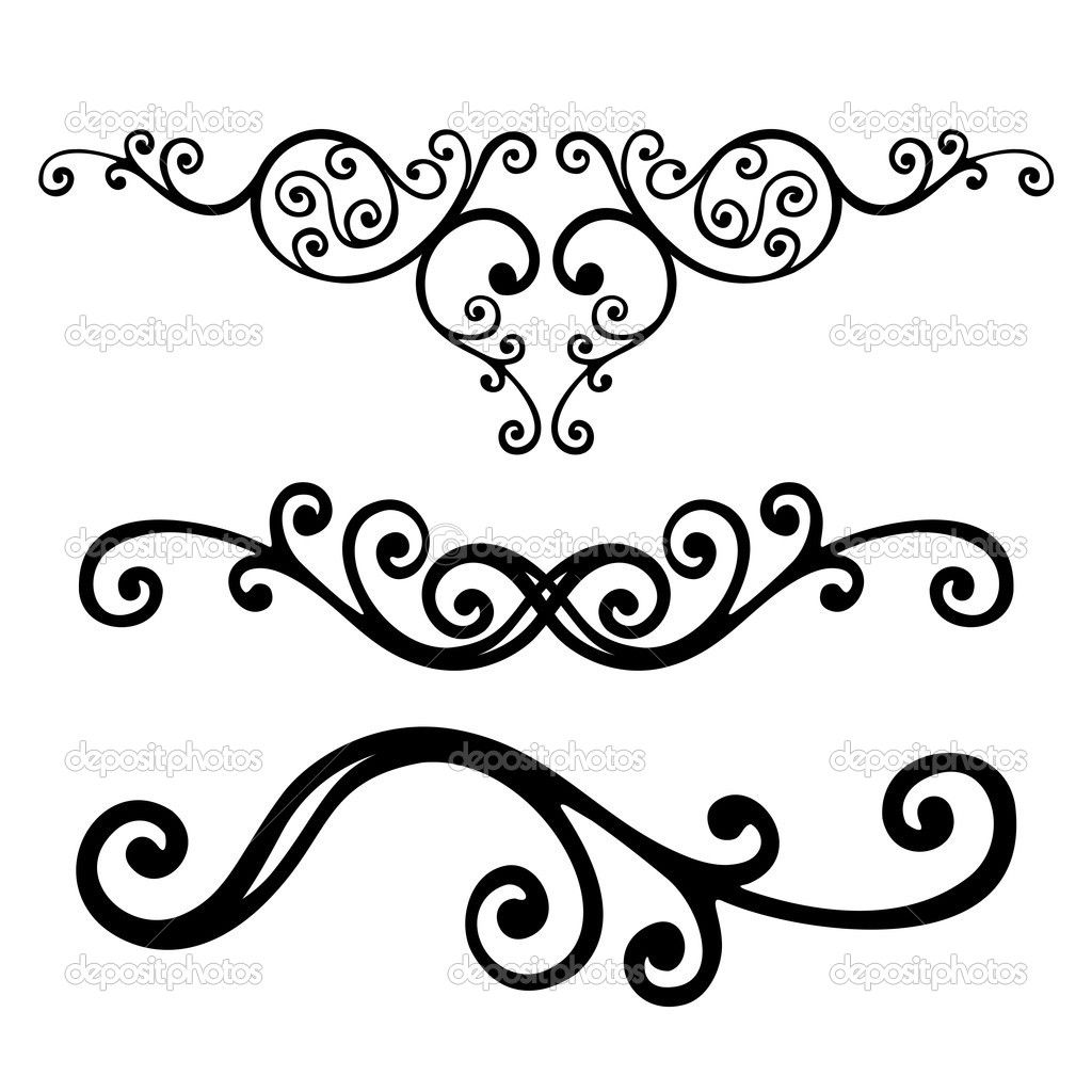 Victorian Style Scroll Work