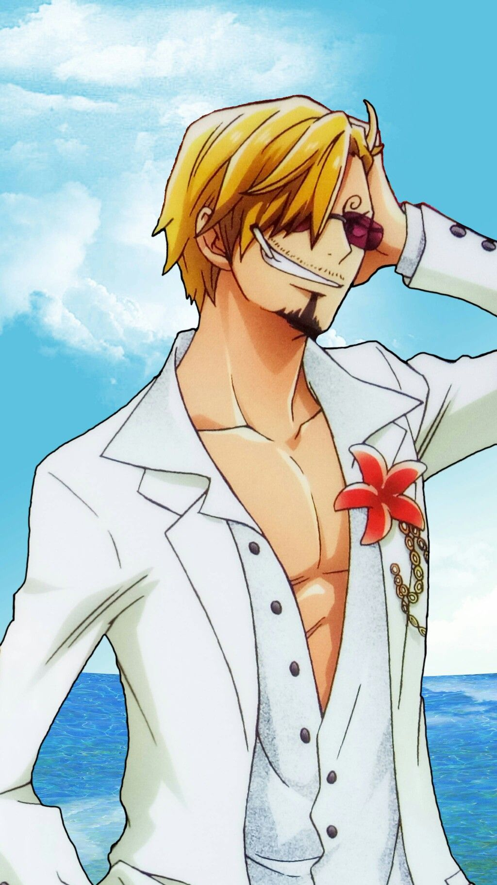 Vinsmoke Sanji One Piece Anime Sanji Vinsmoke One Piece