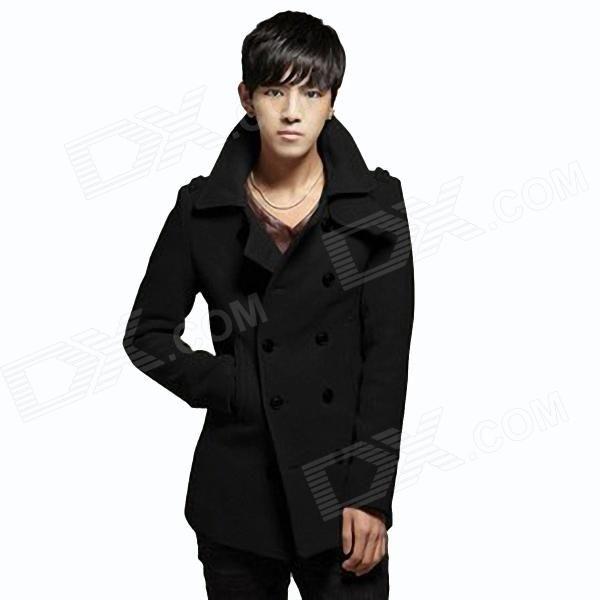 Fashion men coat, warm, calm! http://j.mp/1Au9Uv1