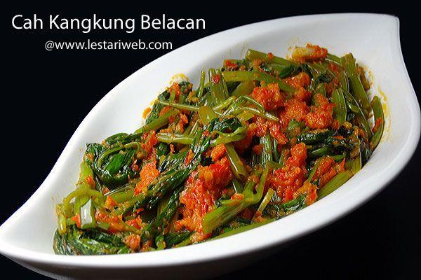 Kumpulan Resep Asli Indonesia Kuliner Indonesia Resep Kangkung Resep Resep Masakan