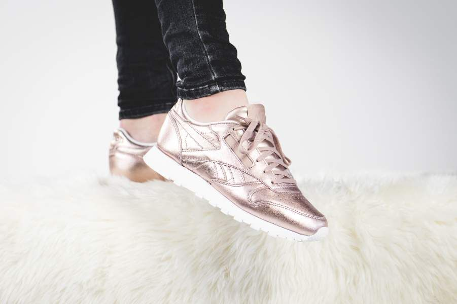 274cf62e53e21 Reebok - Classic Leather Melted Metal (rose gold) - BS7897 ...