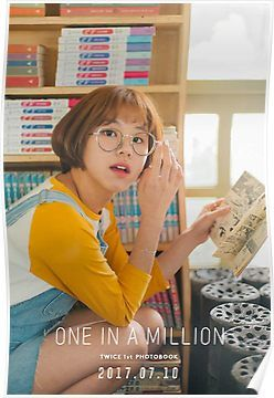 Twice One In A Million Photobook Ft Chaeyoung Poster One In A