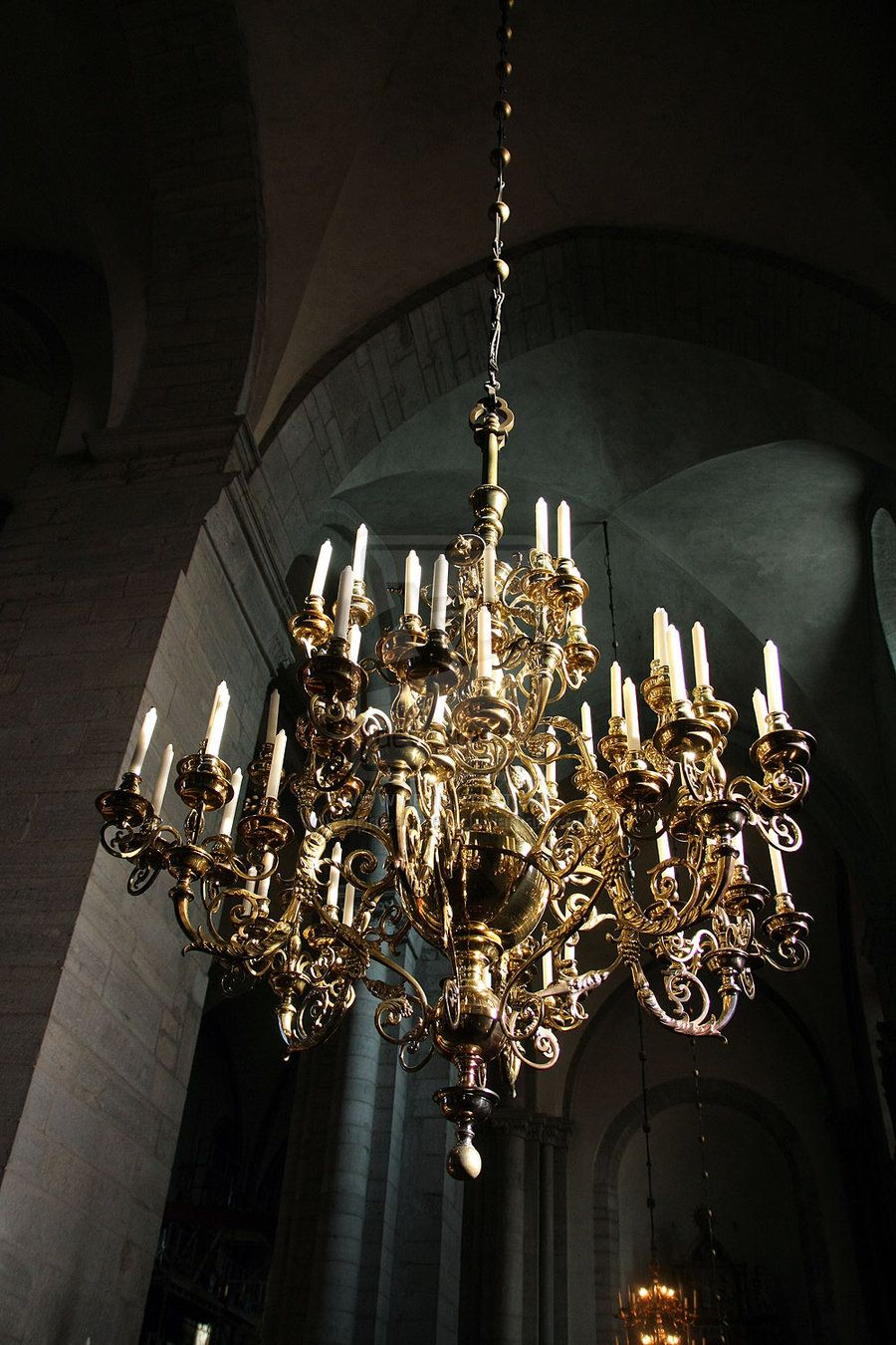 Desvre Candelabra Chandeliers World Decor Gold Chandelier