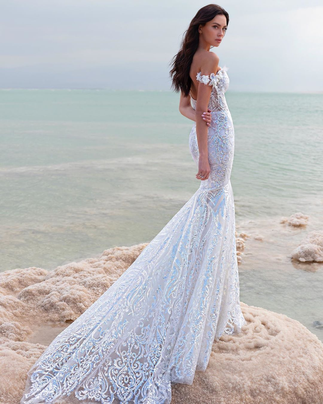 Bridal Mermaid Gown 2020 Lovebypninatornai Style 14753 Collection Available Kleinfel Wedding Dresses Lace Ball Gowns Wedding Wedding Dresses Strapless