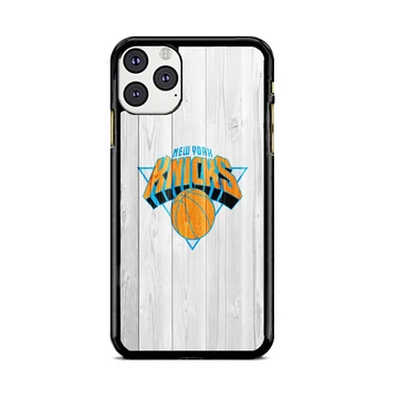 New York Knicks Nba Logo White Wood Wallpaper Iphone 11 Pro Case