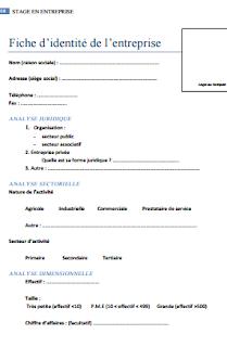 Livret De Suivi De Stage En Entreprise Livret D Accueil Entreprise Rapport De Stage 3eme