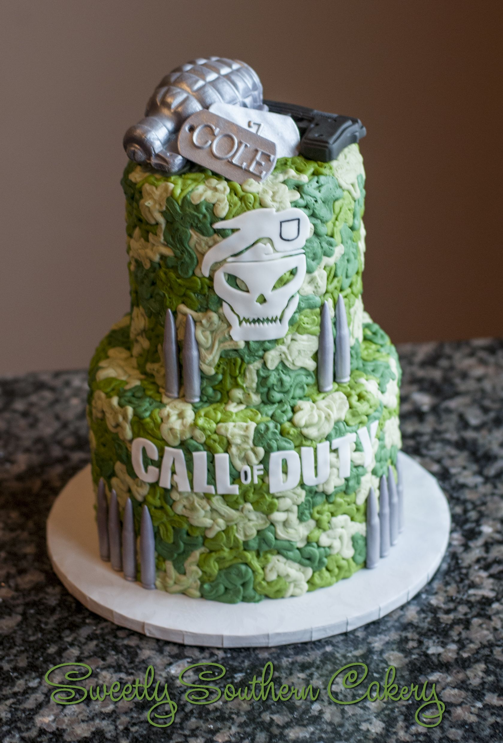 Call Of Duty Cake Video Game Cake