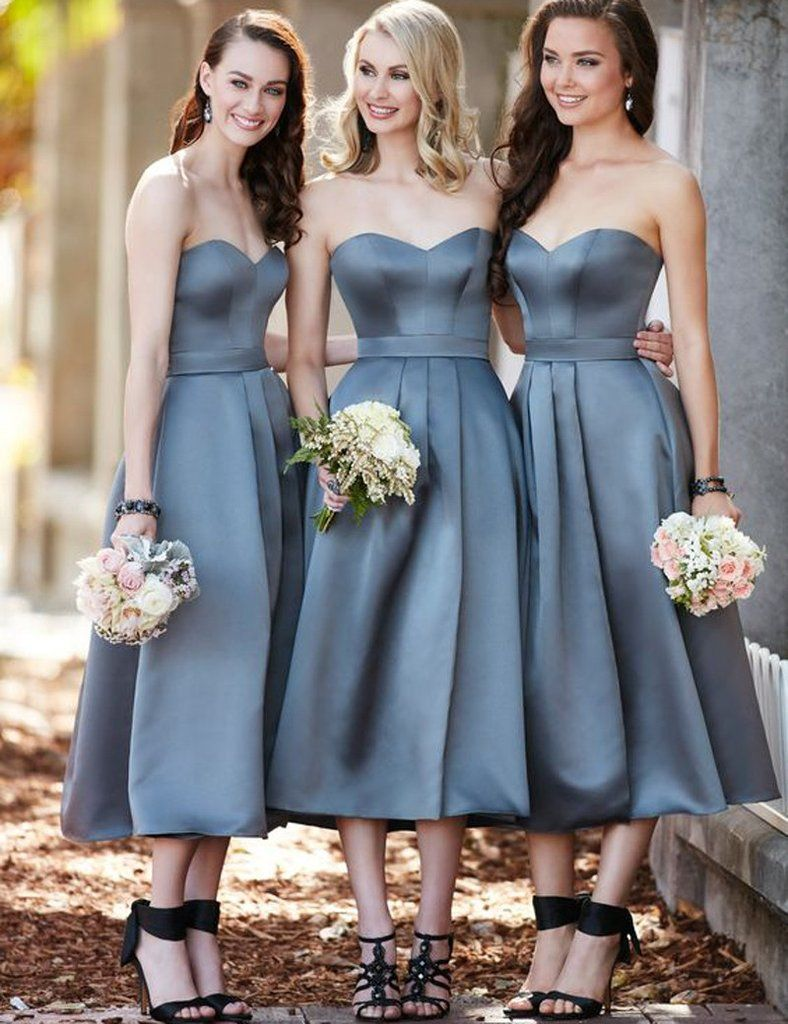 Grey bridesmaid dress sweetheart bridesmaid dresshigh waist grey bridesmaid dress sweetheart bridesmaid dresshigh waist bridesmaid dresssash ruched bridesmaid dresssatin bridesmaid dress pd12 custom size pic ombrellifo Image collections