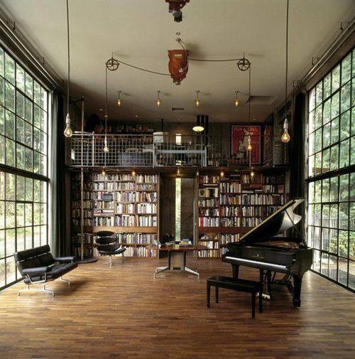 if only I had a room as big as this one and a piano