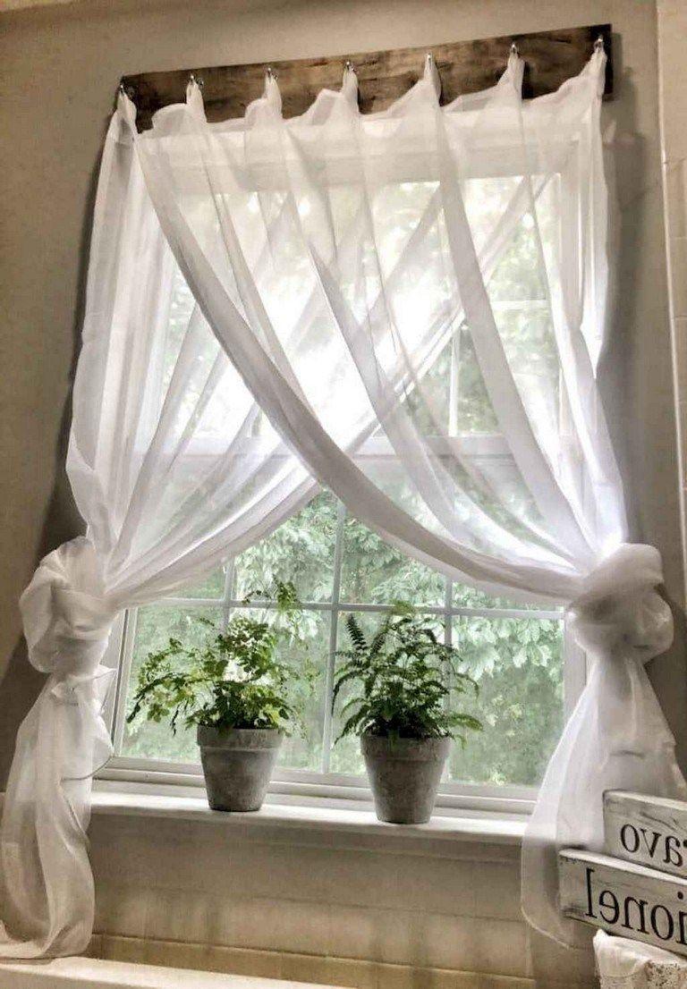 78 lovely farmhouse living room curtains decor ideas