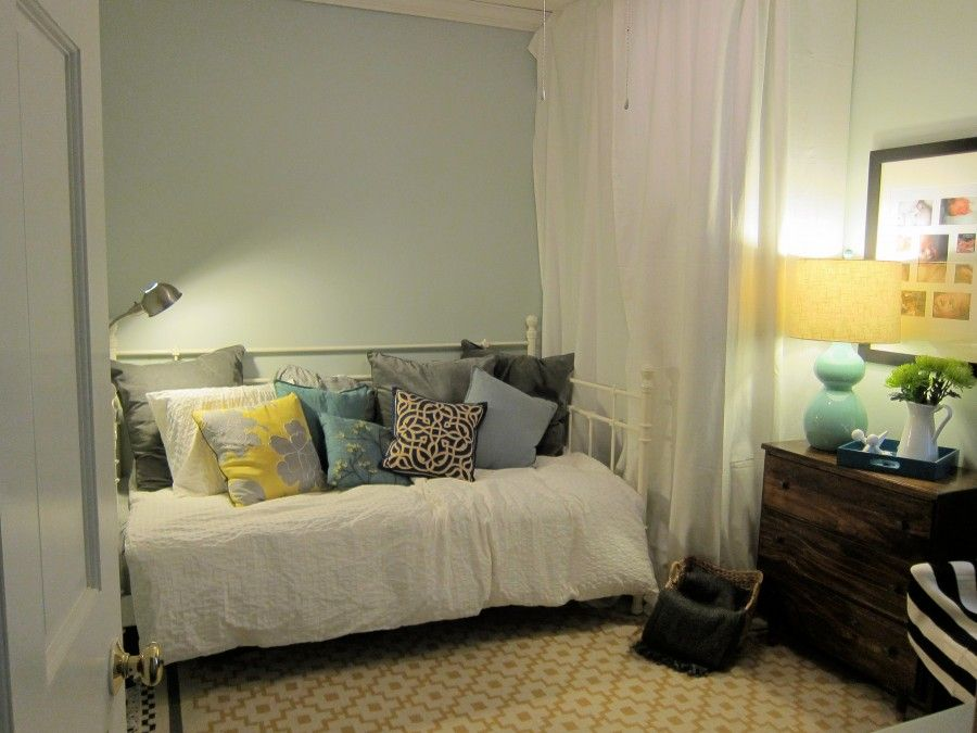 Small Changes The Guest Room Reveal Designing Around Small Guest Room Room Guest Room Some changes to guest room