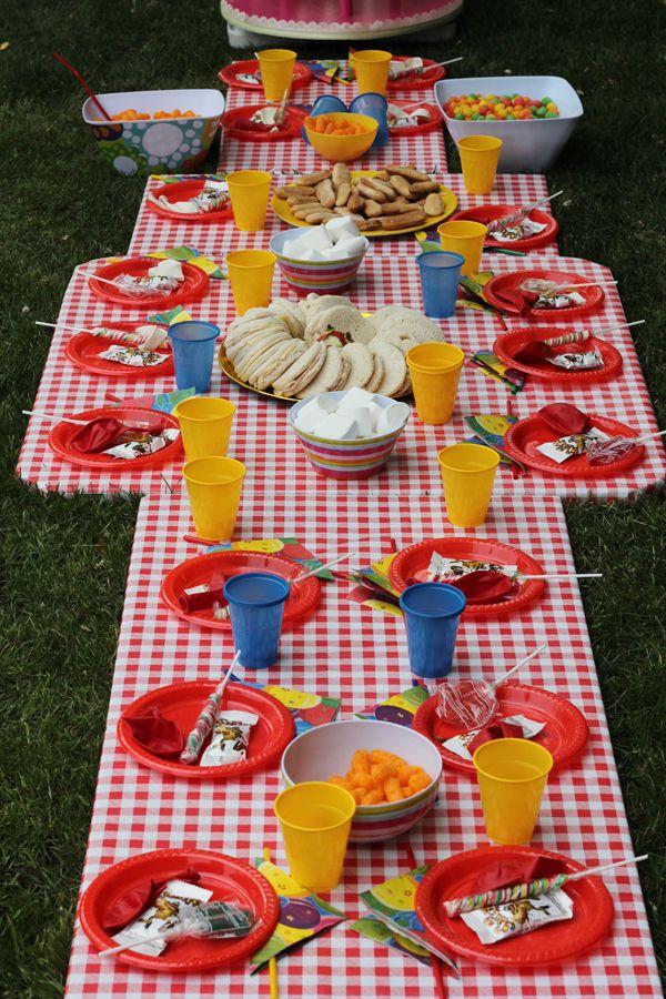 Mi Cumpleaños Ideas Para El Verano Picnic Birthday Picnic Party Picnic Decorations