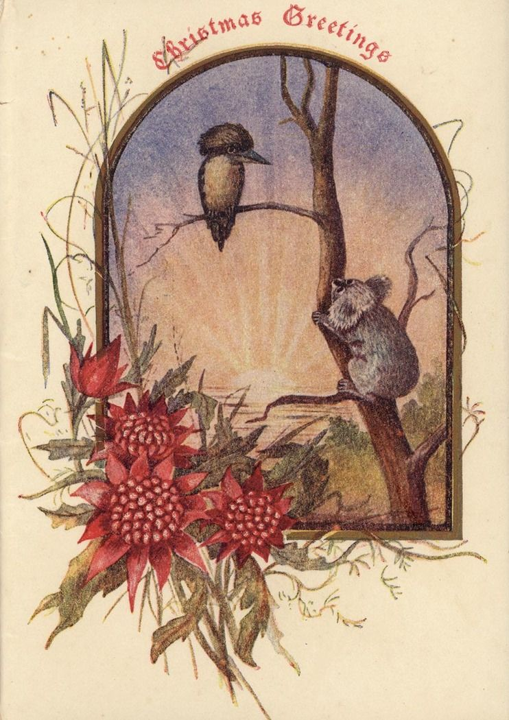 Christmas card from the Fry family papers 1900-1916 Find more ...
