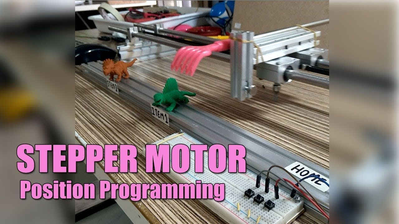 Stepper Motor Direction Control Forward and Reverse with Push Button ...