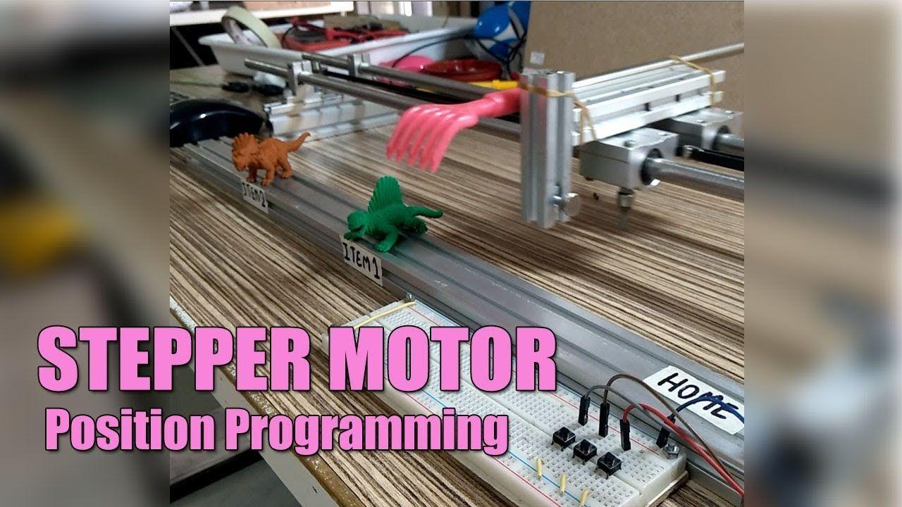 arduino dc motor position control code