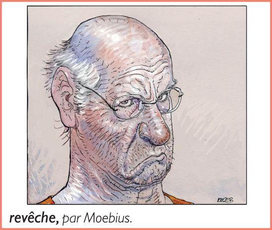 Revêche, par Moebius. Dessin extrait du Petit Larousse 2010.