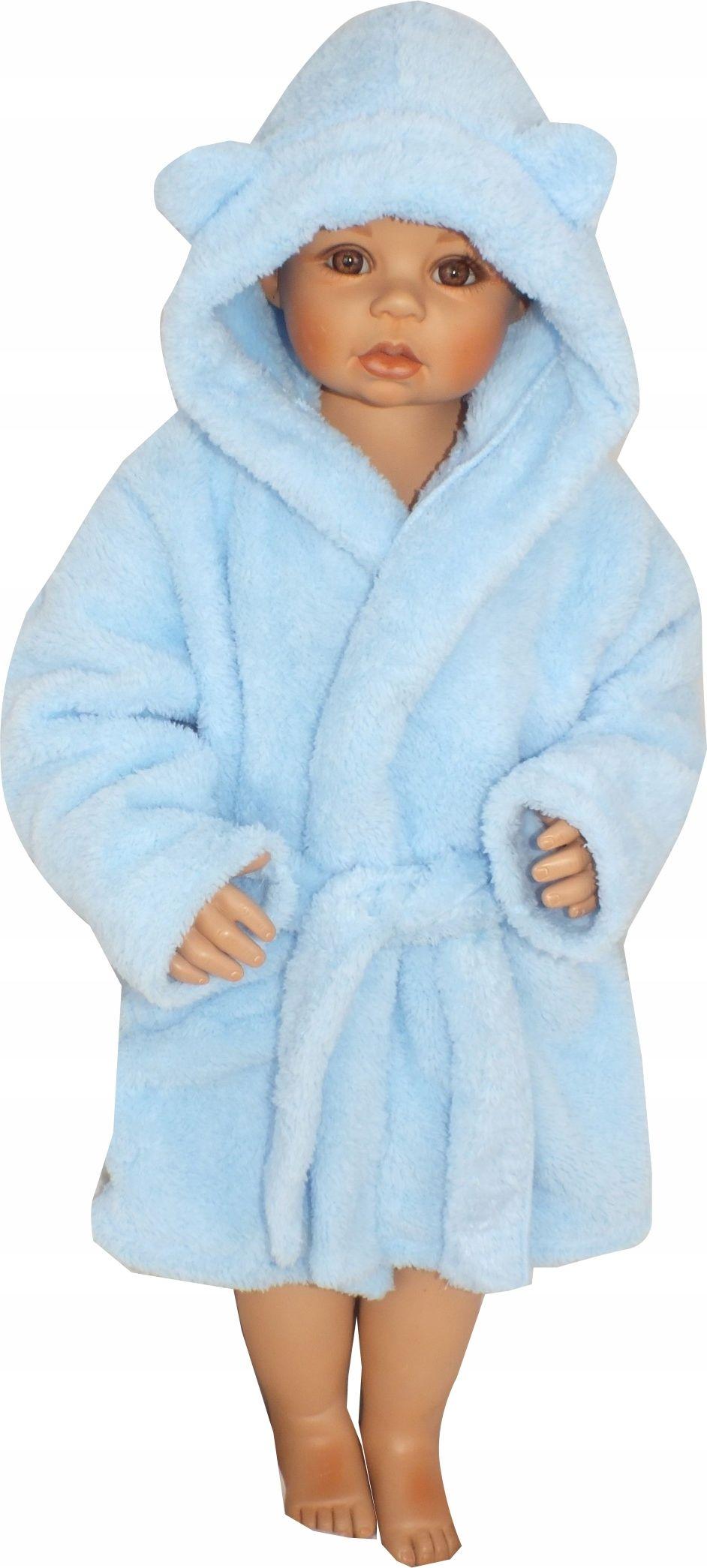 Szlafrok Dzieciecy Niemowlecy Cieply Misiowy Rozmiary 86 128 Zyzio Zuzia Fashion Robe