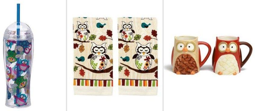 HUGE Owl Sale: Home Decor, Kitchen Items + More from $4.99