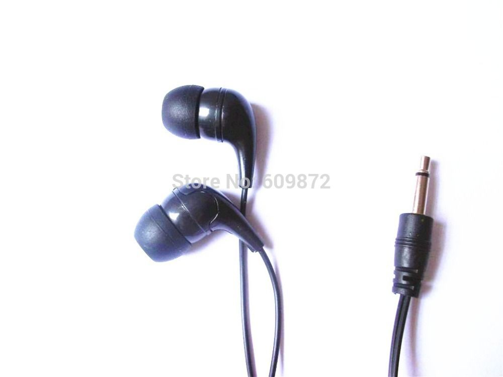 c93e1056564 Disposable mono earphones cheap earbud widely use in hospitals ...