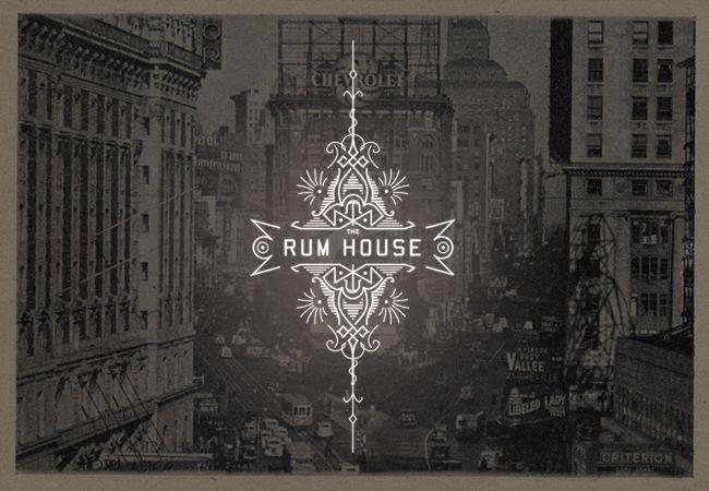 The Rum House logo concept