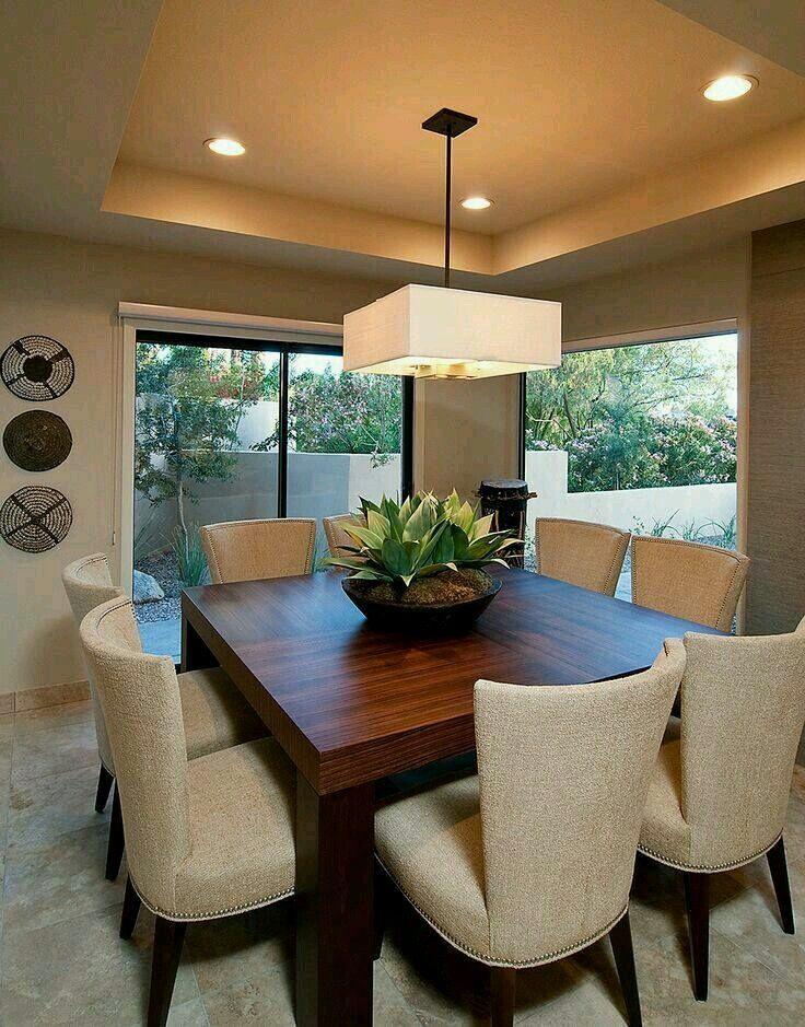 Decoracion comedor | centros de mesas | Home Decor, Dining room y ...
