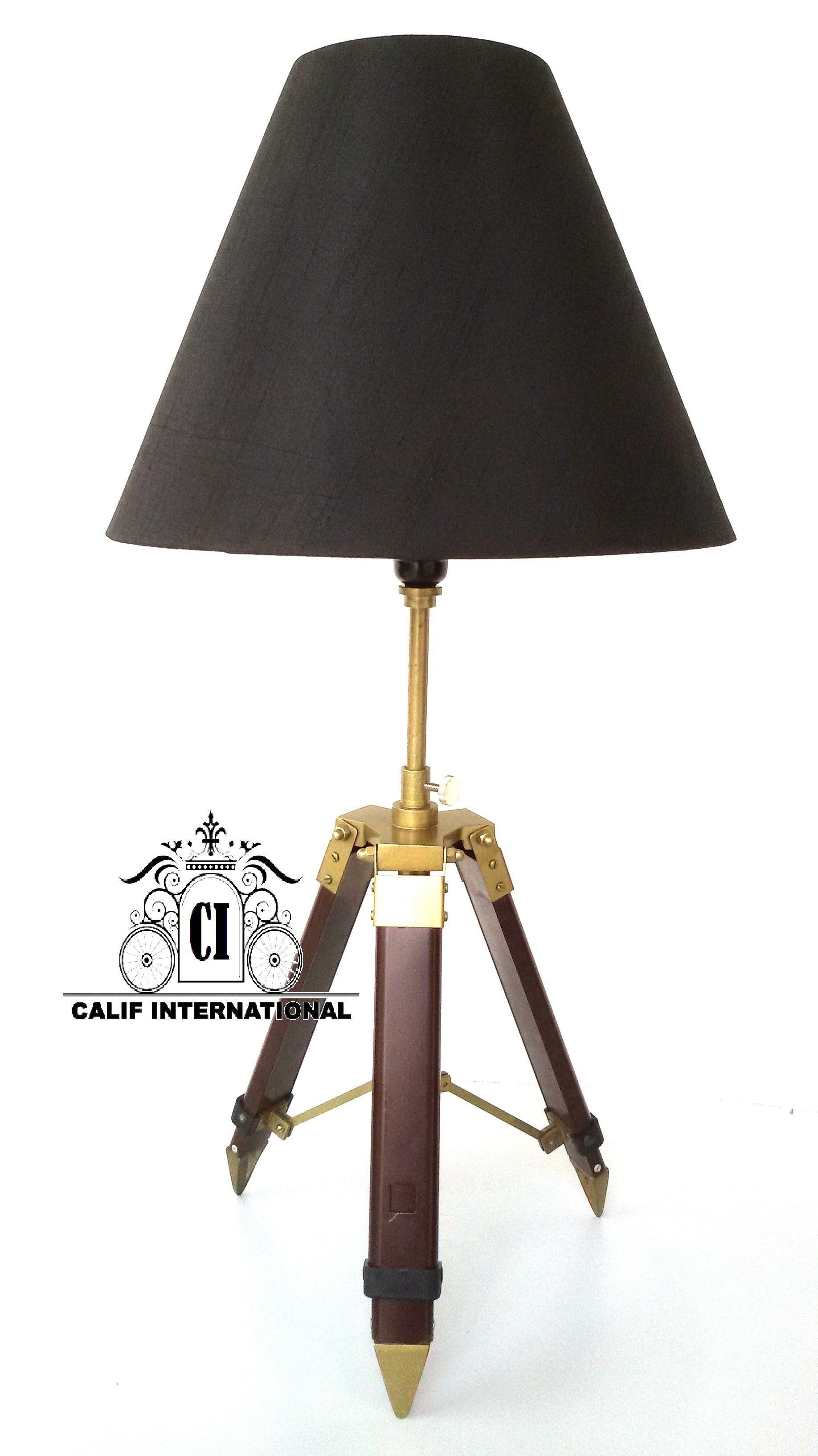 Pin On Table Lamps Tripod Stand Without Shade