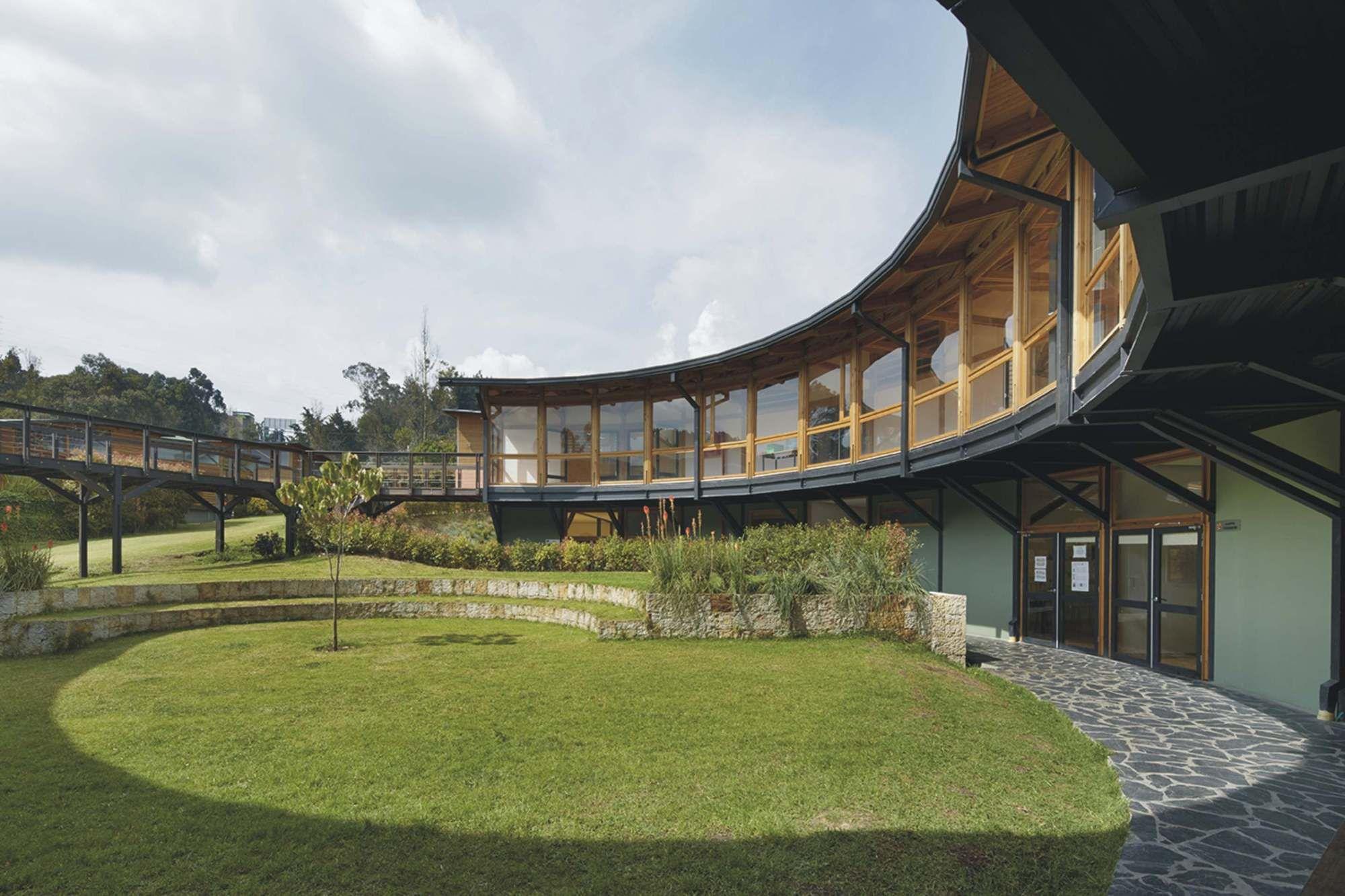 Ekiraya School Alejandro Uribe Cala School Architecture