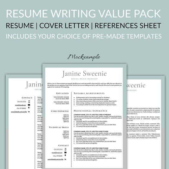 Resume Writing Value Package Graduate Student Mid-Career Shop - mid career resume