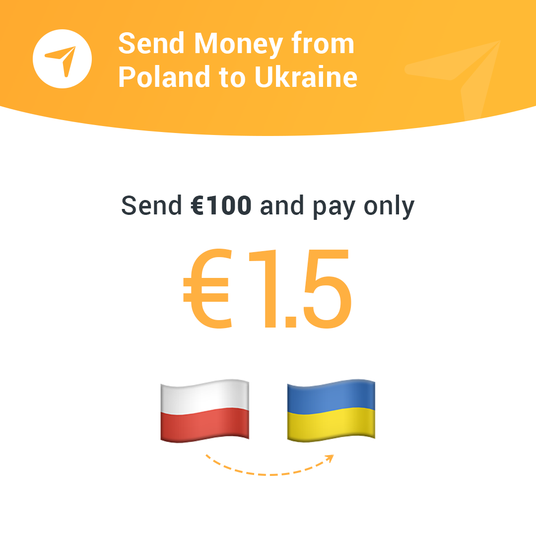 Sending Money From Poland To Ukraine With Fin Do Ears On The