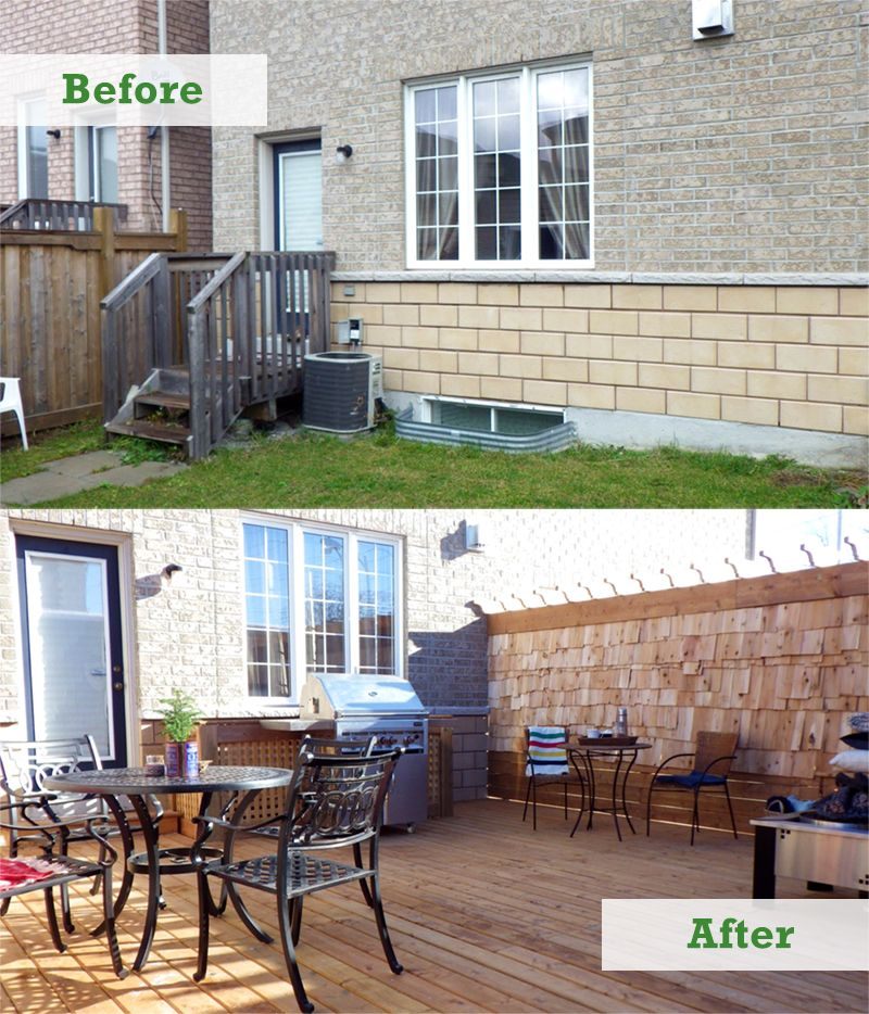 ask a pro q&a: townhouse backyard makeover | better homes and ... - Townhouse Patio Ideas
