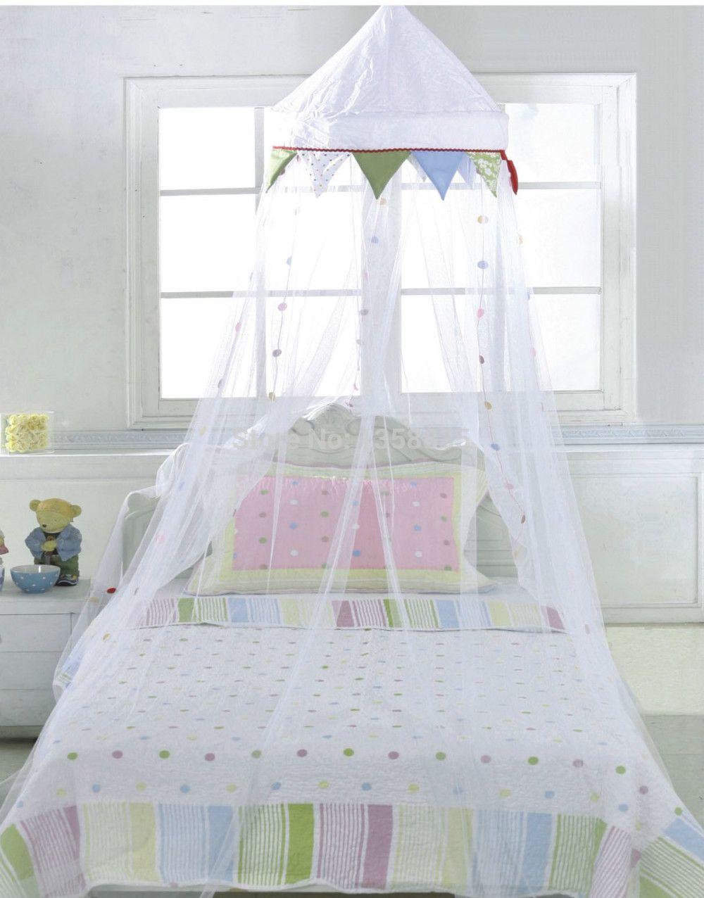 free shippinig ikea child bed baby mosquito net gauze folding dome