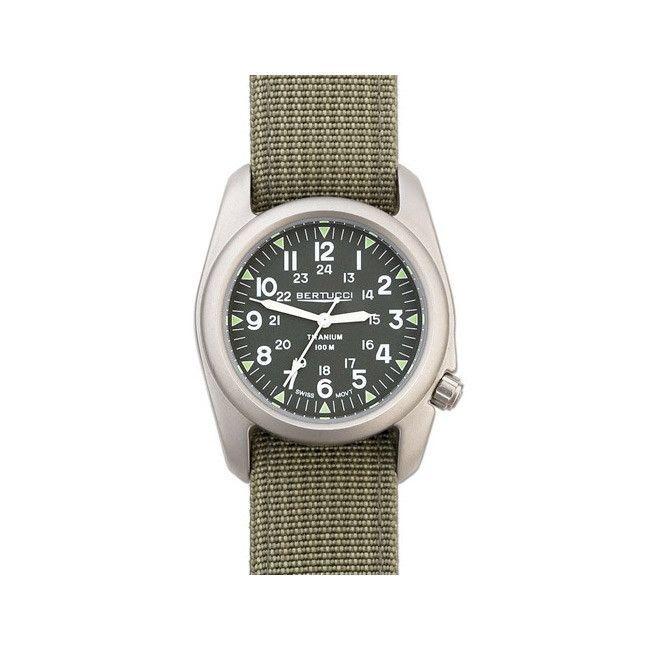 Bertucci A-2T Vintage Marine Green / Drab Watch (Bertucci #12030)
