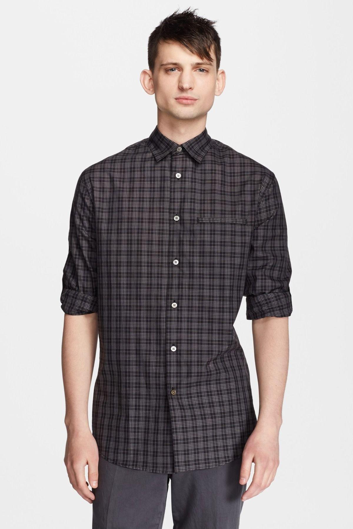 Plaid Slim Fit Shirt by John Varvatos Collection on @nordstrom_rack 54-64% Off