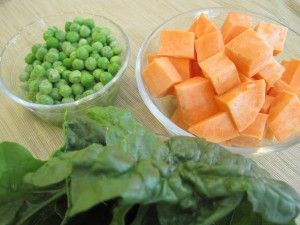 Baby food recipe sweet potatoes with spinach and peas cora baby food recipe sweet potatoes with spinach and peas forumfinder Gallery