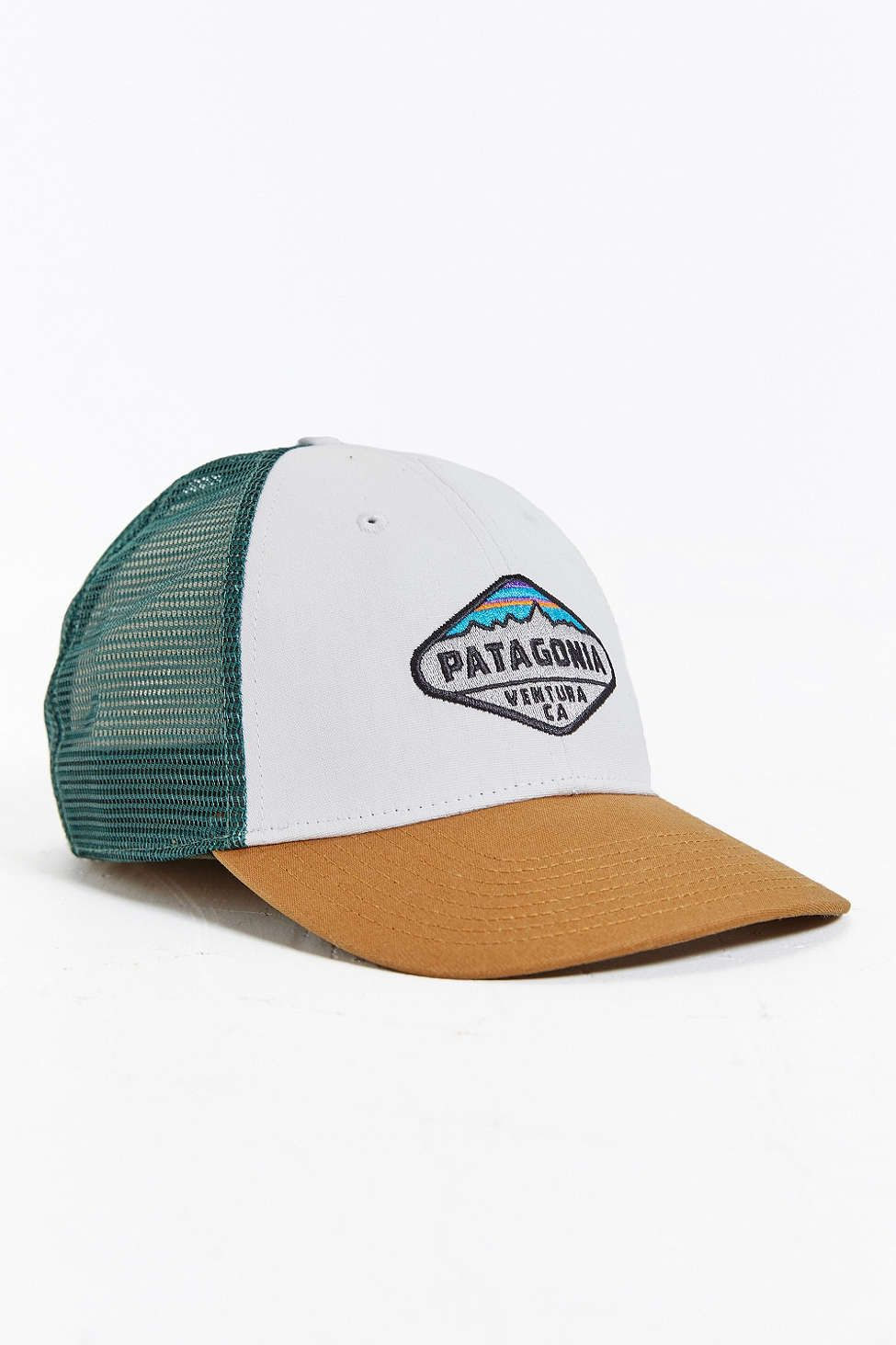 Patagonia Fitz Roy Crest LoPro Trucker Hat - Urban Outfitters ... b2283804018
