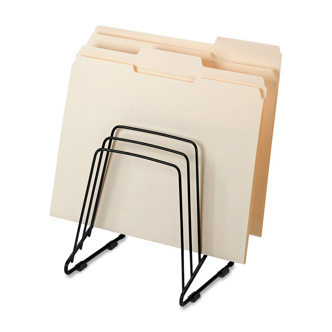 Amazon.com : Fellowes Wire Step File II (69712) : File Folder Racks ...